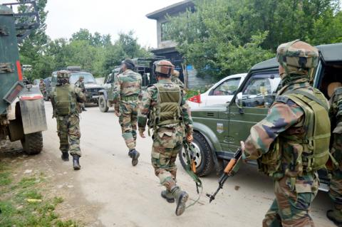 militant killed in encounter in Kulgam