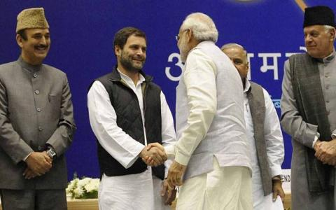 Modi tweeted birthday greetings to political rival Rahul Gandhi