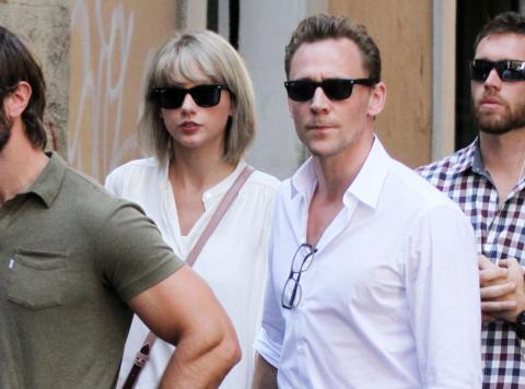 Taylor Swift And Tom Hiddlestons Romance Charted Across The Globe