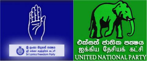 Sri Lanka Freedom Party (SLFP) and the United National Party