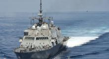 United States Warship Sails Near Islands Beijing Claims In South China Sea