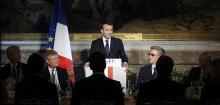 Operation le seduction, France's Macron offers London bankers