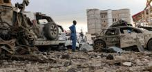 18 people kills two car bombs explode in Somali capital
