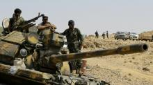 Syrian army take last IS stronghold in Syria