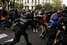 Total of 844 People Wounded in Clashes With Police in Catalonia