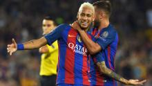 Neymar has hinted he could leave Barcelona for a Premier League club in the future.