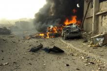 One killed, seven wounded in separate IED explosions in Baghdad
