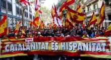 People March Against Catalonia