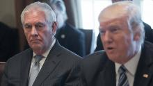 Trump says he has 'total confidence' in Tillerson