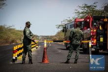 Colombia protests Venezuelan military crossing border