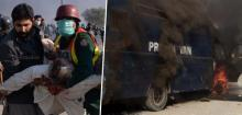 Religious protests in Pakistan turn violent