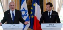 Emmanuel Macron condemns attacks on Israel over Jerusalem