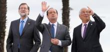 U.S. President Donald Trump,French President Francois Hollande,Political developments in the United States,Leaders of France, Italy, Spain, Greece, Cyprus and Malta