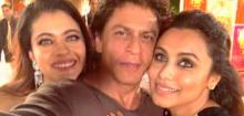 SRK's Selfie With Kajol And Rani Mukerji