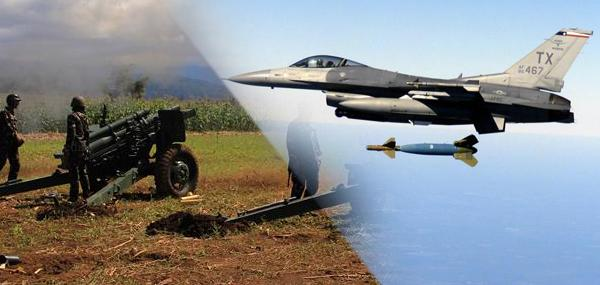 Air strikes,Shelling as Philippine troops hunt pro-Islamic State militants in marshland