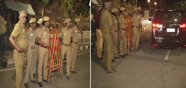 Income tax officials enter Jayalalithaa's Poes Garden residence compound